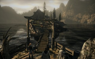 Alan Wake - The cabin of Diver's Isle on Cauldron Lake