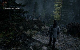 Alan Wake - Gameplay at the very beginning