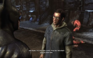 Batman: Arkham City - Jack Ryder rescued