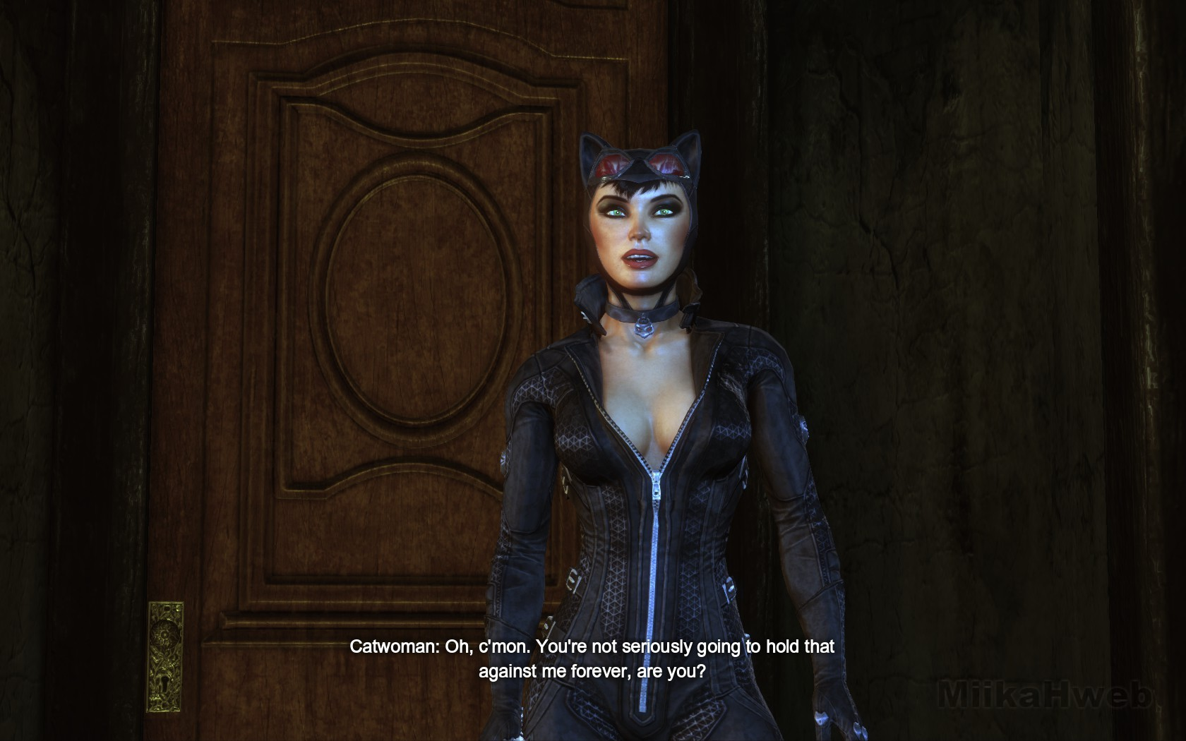 Catwoman arkham city unzipping her suit xvideos hardcore download