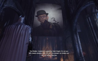 Batman: Arkham City - The Riddler's first appearance