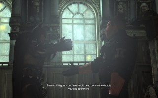 Batman: Arkham City - Courthouse rescue