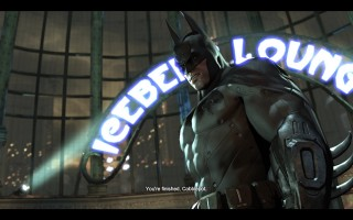 "Batman: Arkham City - ""You're finished, Bobblepot"""