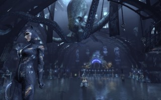 Batman: Arkham City - Catwoman, The Iceberg Lounge hall