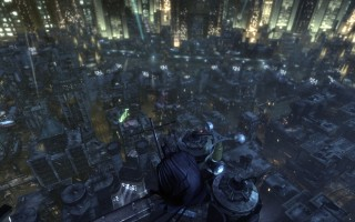 "Batman: Arkham City - On top of the ""Wonder Tower"""