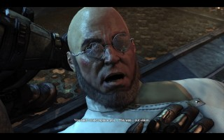 Batman: Arkham City - Hugo Strange dying