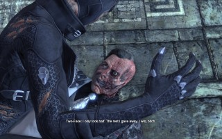 Batman: Arkham City - Two-Face defeated