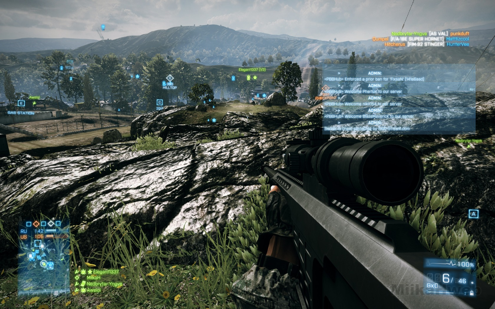 MiikaHweb - Game : Battlefield 3