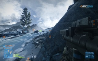 Battlefield 3 - Armored Kill - Alborz Mountains