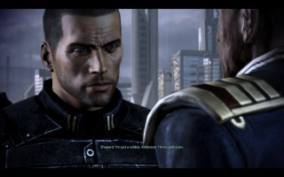 Mass Effect 3 - Shepard and Anderson