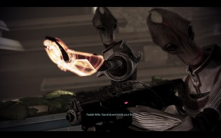 Mass Effect 3 - Salarians protecting their homeworld, Sur'Kesh