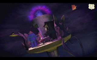 Sam & Max: Season 3 - Beyond the Alley of the Dolls. On the Statue of Liberty's torch