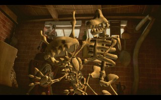 Sam & Max: Season 3 - Sammeth and Maximus cursed into skeletons