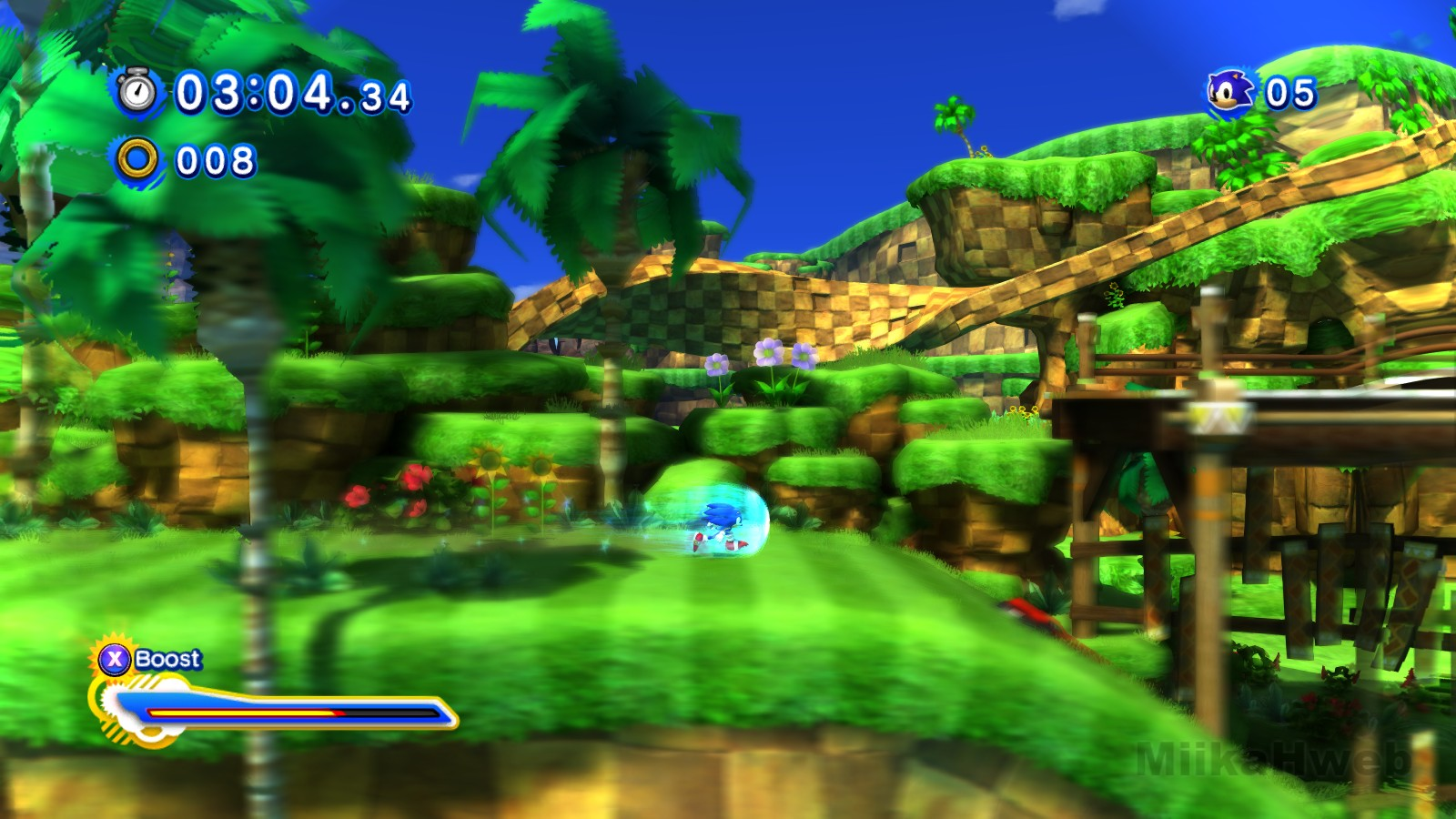MiikaHweb - Game : Sonic Generations