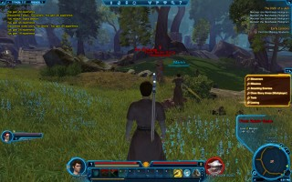 Star Wars: The Old Republic - Jedi Consular starting zone on Tython