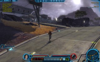 Star Wars: The Old Republic - Level 3 Smuggler gameplay on planet Ord Mantell