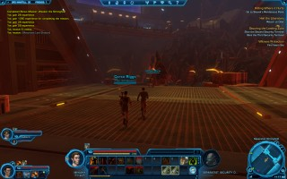 Star Wars: The Old Republic - Level 10 Smuggler gameplay on planet Ord Mantell. Separatist Stronghold