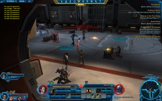 Star Wars: The Old Republic - Level 11 Gunslinger gameplay. The Esseles Flashpoint