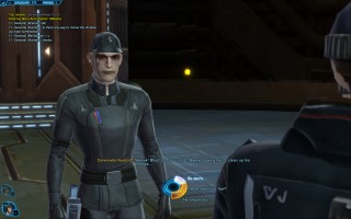 Star Wars: The Old Republic - Gunslinger gameplay on Coruscant. Commander Kasstroff
