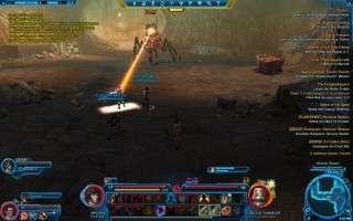 Star Wars: The Old Republic - Level 17 Gunslinger gameplay on Taris. Hammer Station - DN-314 Tunneler