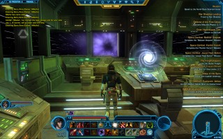 Star Wars: The Old Republic - Level 17 Gunslinger gameplay. Smuggler Starship – XS Freighter