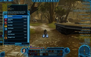 "Star Wars: The Old Republic - Level 19 Gunslinger gameplay on Taris. ""Quickdraw"" Skill"