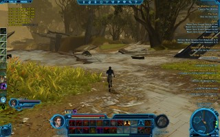 Star Wars: The Old Republic - Level 19 Gunslinger gameplay on Taris. Western Shore