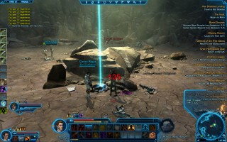 Star Wars: The Old Republic - Level 20 Gunslinger gameplay on Taris. Transport Station 5