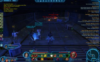 Star Wars: The Old Republic - Level 21 Gunslinger gameplay on Nar Shaddaa. The Kintan Arena