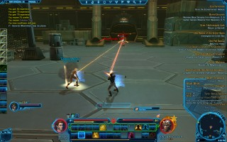 "Star Wars: The Old Republic - Level 21 Gunslinger gameplay on Nar Shaddaa. Nikto Sector - Double ""Aimed Shot"""