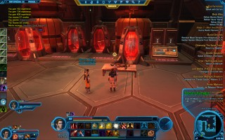 Star Wars: The Old Republic - Level 22 Gunslinger gameplay on Nar Shaddaa. Quarantine Zone - Doctor Charnagus