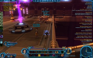 Star Wars: The Old Republic - Level 22 Gunslinger gameplay on Nar Shaddaa. Red Light Sector