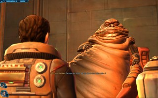 Star Wars: The Old Republic - Gunslinger gameplay on Nar Shaddaa. Damrosch the Hutt