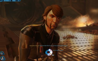 Star Wars: The Old Republic - Gunslinger gameplay on Nar Shaddaa. Commander Vergost