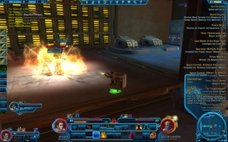 Star Wars: The Old Republic - Level 23 Gunslinger gameplay on Nar Shaddaa. Lower Industrial Sector