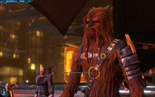 Star Wars: The Old Republic - Gunslinger gameplay on Nar Shaddaa. Rescuing Bowdaar the Wookiee