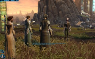 Star Wars: The Old Republic - Level 33 Gunslinger gameplay on Balmorra