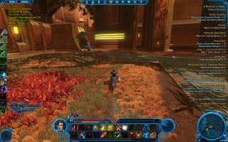 Star Wars: The Old Republic - Level 37 Gunslinger gameplay on planet Quesh