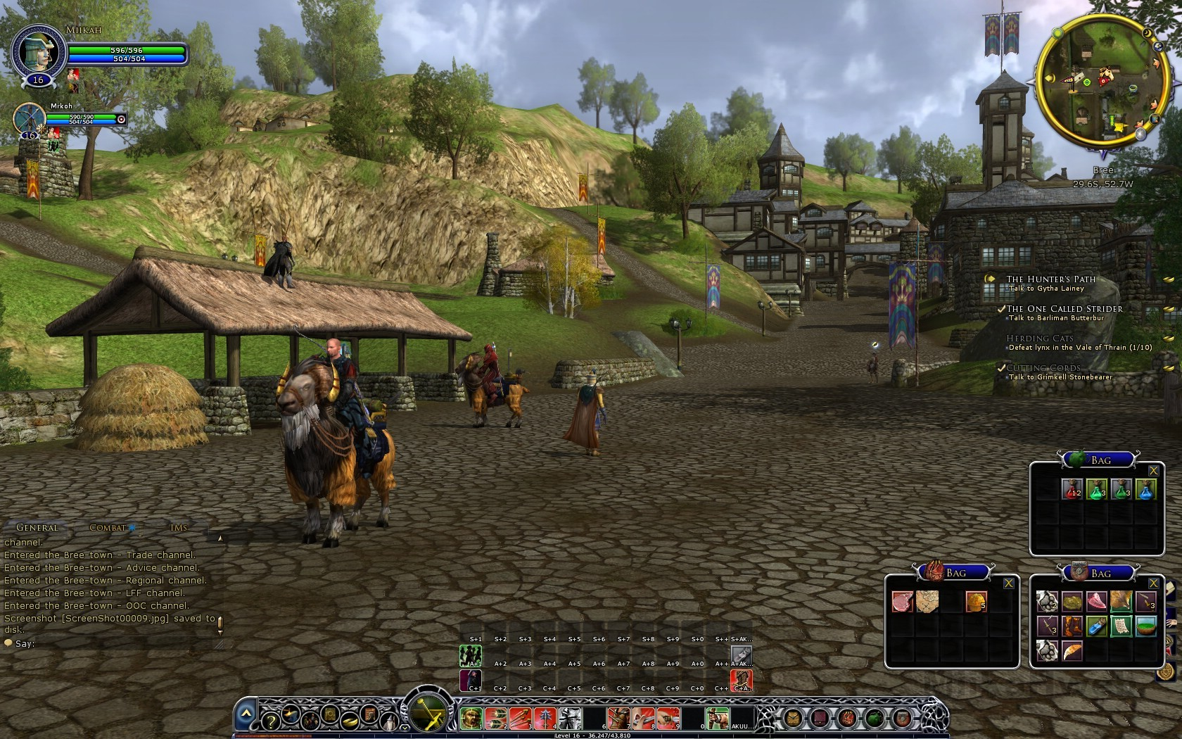 play lord of the rings strategy battle game online