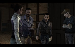 The Walking Dead - Christa, Lee, Omid, Kenny