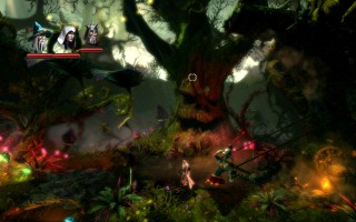 Trine 2 - Hushing Grove. That's a scary looking tree