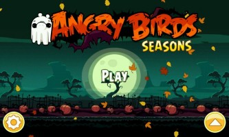 Angry Birds Seasons - Title Screen