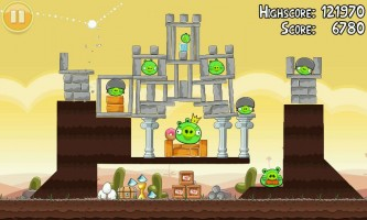 Angry Birds - Pig queen's castle