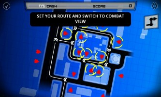 Anomaly Warzone Earth - Tactical screen with final route