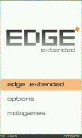 EDGE - Main Menu