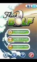 Flick Golf! - Main Menu