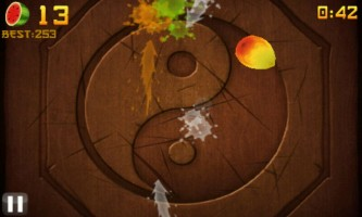 Fruit Ninja - Arcade Mode Gameplay