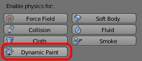 Enable Dynamic Paint