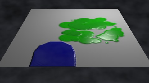 Paint rendering example